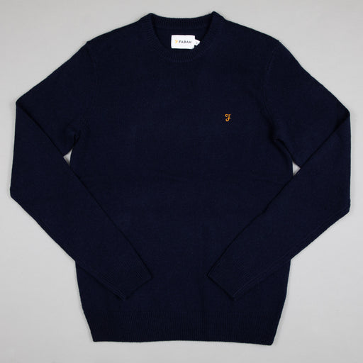 Rosecroft Jumper in TRUE NAVY