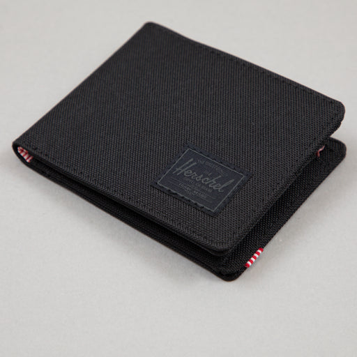 Roy Coin Wallet in BLACK & BLACK