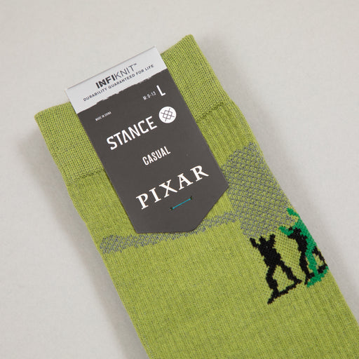 PIXAR Toy Story Army Men Socks in GREENSTANCE - CACTWS