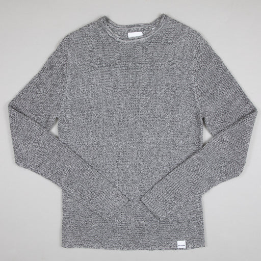 Sato 7 Multi Knit in LIGHT GREY MELANGE
