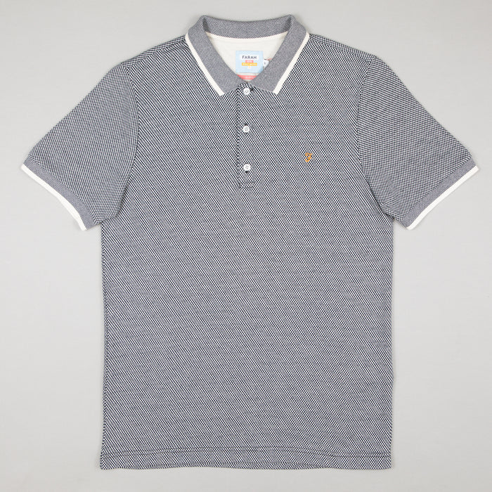 Scotchill Slim Fit Polo Shirt in TRUE NAVY