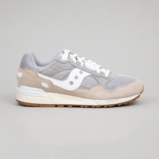 SAUCONY Shadow 5000 Vintage Trainers in GREY & WHITE
