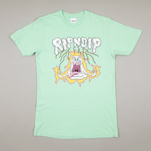 Shocked Tee in MINT MINERAL WASHRIPNDIP - CACTWS