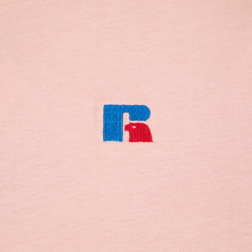 RUSSELL ATHLETIC Short Sleeve T-Shirt in MISTY ROSE