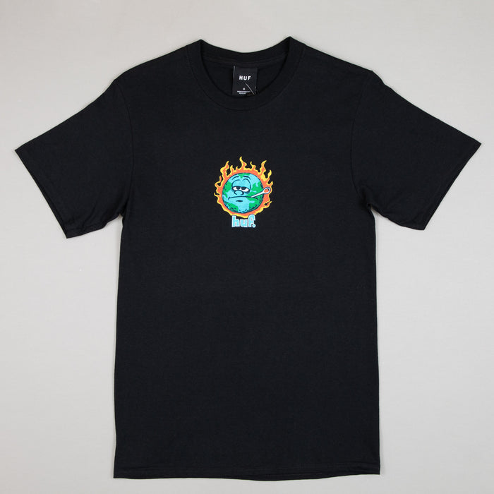 HUF Sick And Sad World Short Sleeve Tee in BLACK