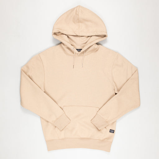 JACK & JONES Soft Sweat Hoodie in CROCKERY