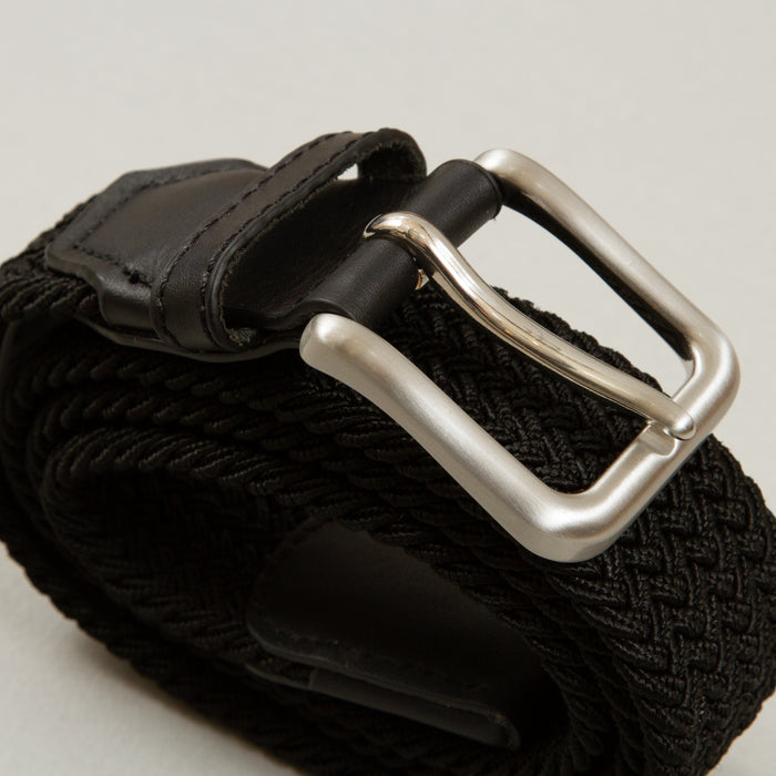 Spring Woven Belt in BLACKJACK & JONES - CACTWS