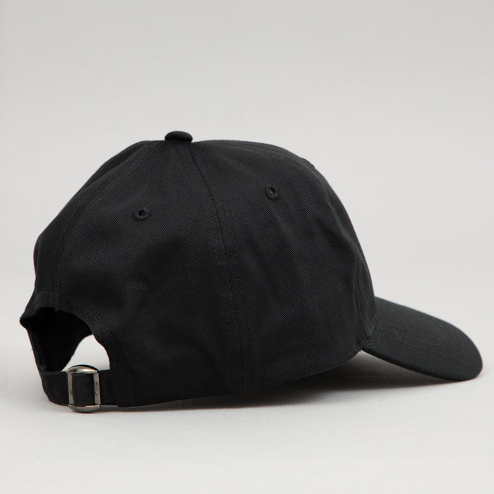 Spy Strap Back Baseball Cap in BLACK