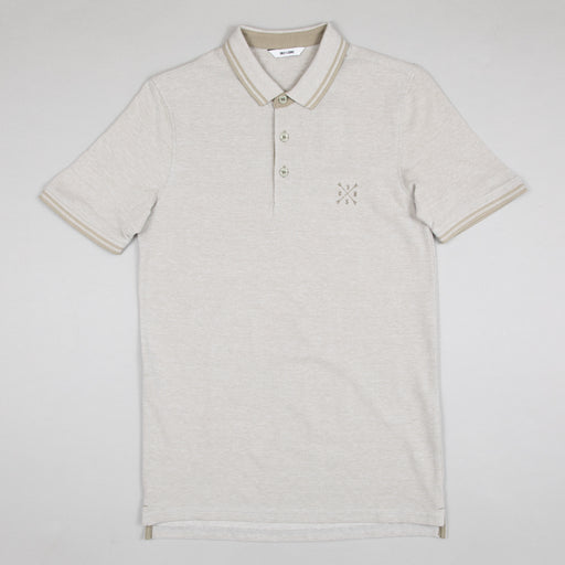 Stan Short Sleeve Fitted Polo in SEAGRASS & SOLID