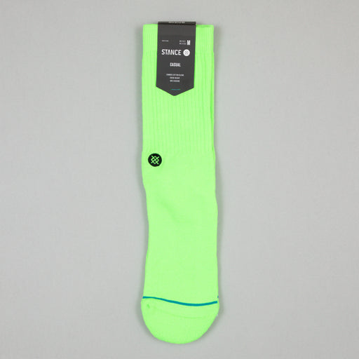 Staples Icon Socks in NEON GREEN