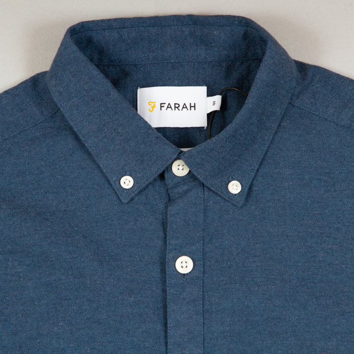Steen Short Sleeve Shirt in FARAH TEALFARAH - CACTWS