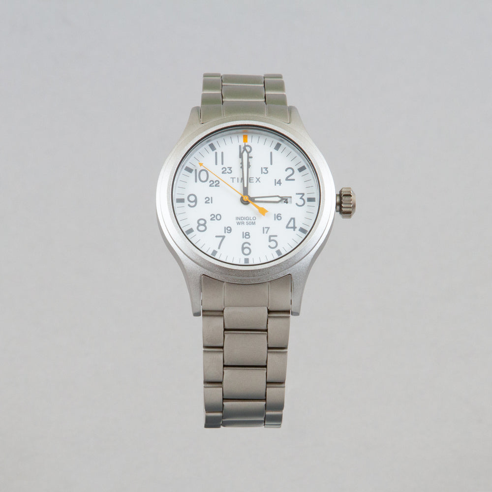 Allied Watch in SILVER-TONE & WHITE