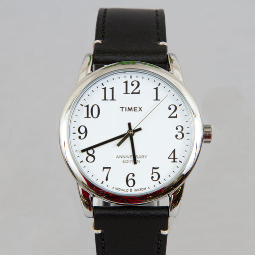 Easy Reader Watch in SILVER-TONE, BLACK & WHITE