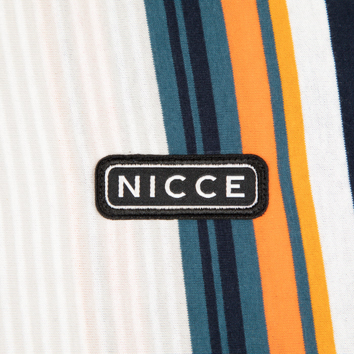 NICCE Strobe T-Shirt in DRIZZLE GREY & CARROT