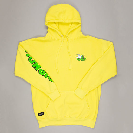 Teenage Mutant Hoodie in NEON GREEN
