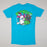 RIPNDIP Teenage Mutant Short Sleeve T-Shirt in BLUE