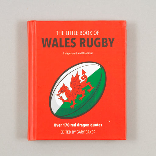 The Little Book of Wales Rugby by Gary BakerCACTWS Gifts - CACTWS