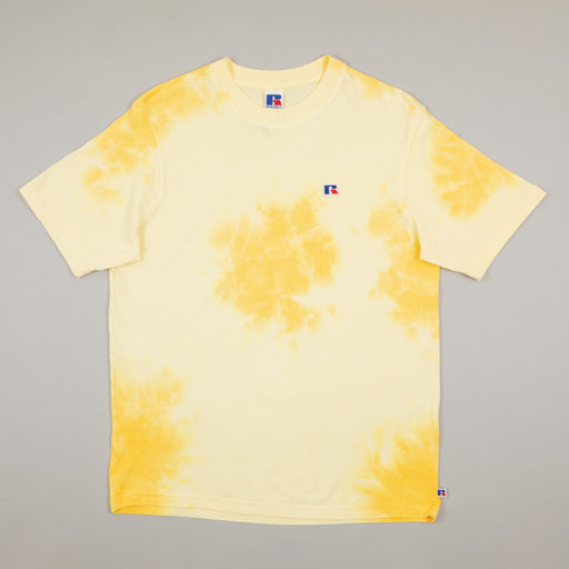 Tie Dye T-Shirt in INCA GOLDRUSSELL ATHLETIC - CACTWS