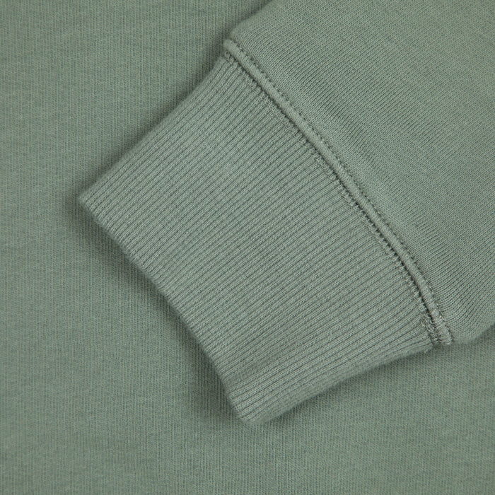 Tim Crew Neck Sweat in FERN GREEN