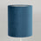 LIGHT & LIVING VELOURS Tall Light Shade in PETROL BLUE (22cm)
