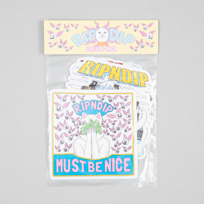 RIPNDIP Assorted Spring 2021 Sticker Pack (10 Stickers)