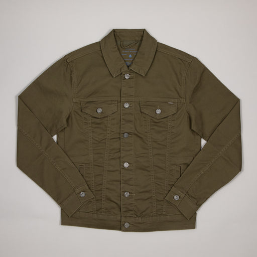 ONLY & SONS Coin Life Trucker Overshirt in OLIVE NIGHT