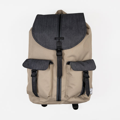 HERSCHEL Dawson Backpack in TIMBERWOLF/BLACK DENIM