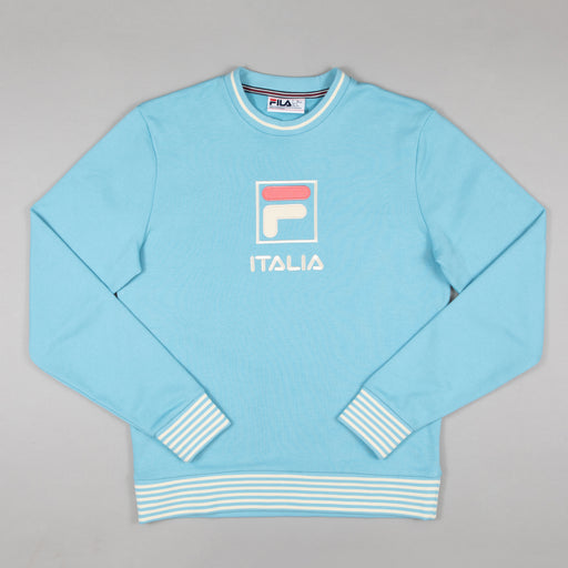 FILA Vintage Empire Crew Sweatshirt in AIR BLUE