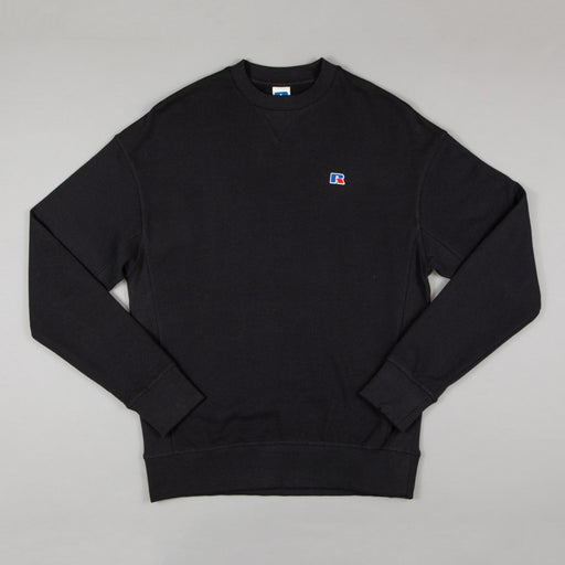 RUSSELL ATHLETIC Frank Sweater in BLACK