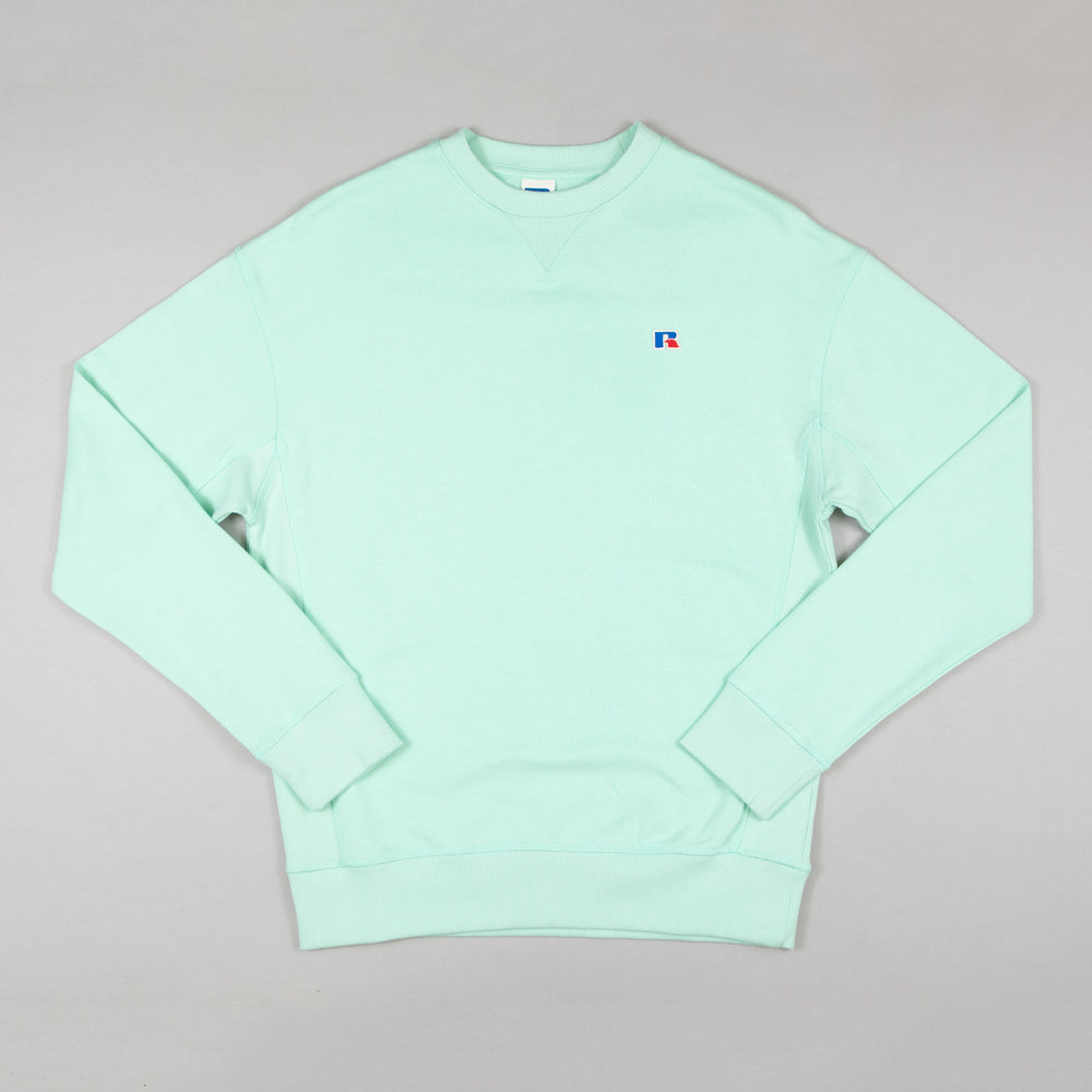RUSSELL ATHLETIC Frank Sweater in MINT GREEN
