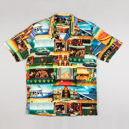 HUF x STREET FIGHTER Stages Short Sleeve Resort Shirt