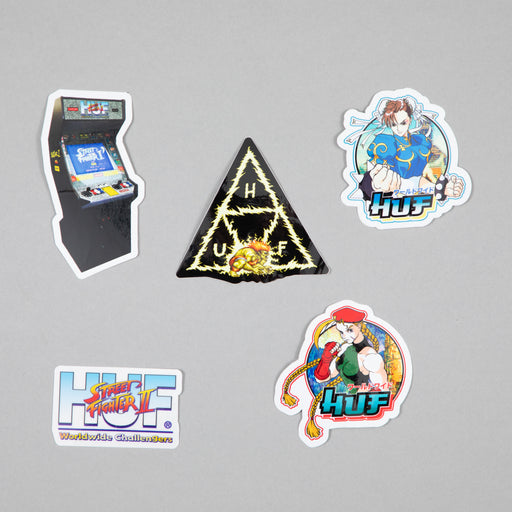 HUF x Street Fighter Sticker Set