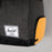 HERSCHEL Novel Duffle Bag in BLACK/ORANGE