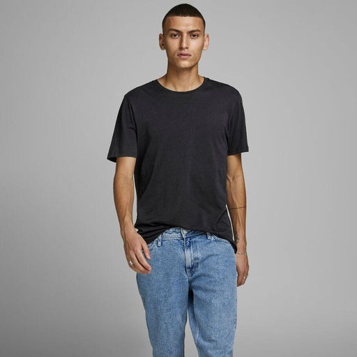 JACK & JONES Organic Basic T-Shirt in BLACK
