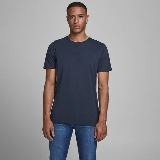 JACK & JONES Organic Basic T-Shirt in NAVY