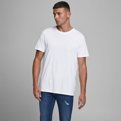 JACK & JONES Organic Basic T-Shirt in WHITE