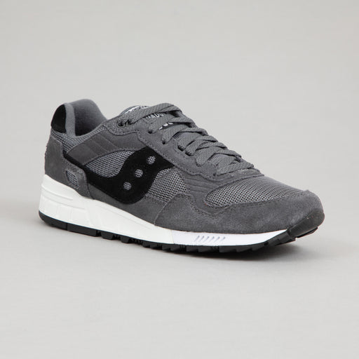 SAUCONY Shadow 5000 Original Vintage Trainers in DARK GREY & WHITE