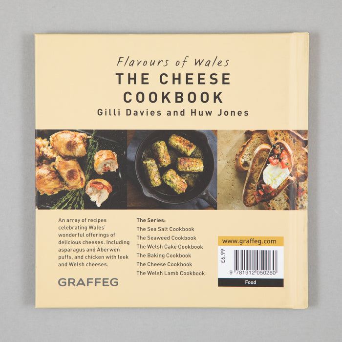 Book: The Cheese Cookbook (Flavours of Wales)