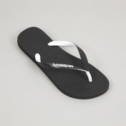 HAVAIANAS Top Mix Flip Flops in BLACK