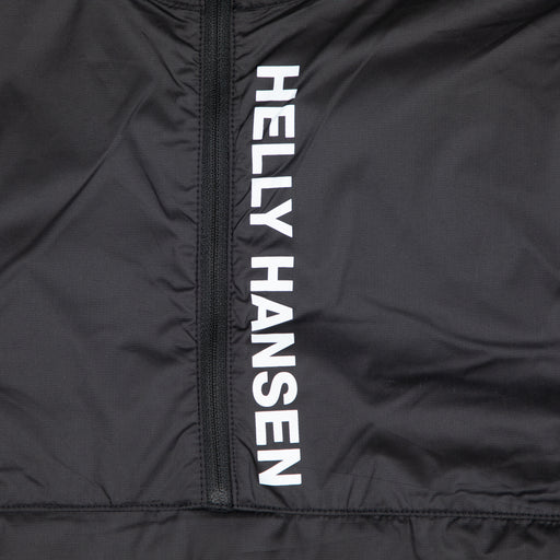 HELLY HANSEN Vector Packable Wind Anorak Jacket in BLACK