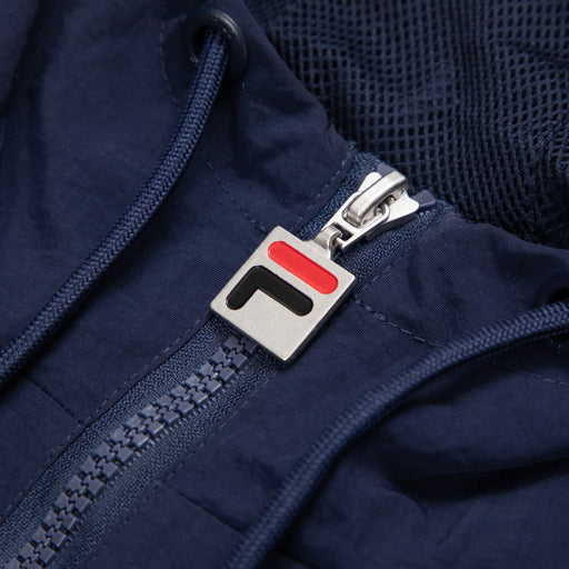 FILA Vintage Jacoby Half Zip Hooded Pullover Jacket