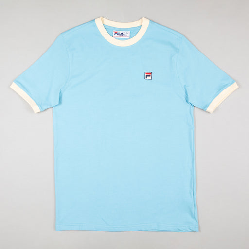 FILA Vintage Marconi Crew Neck T-Shirt in AIR BLUE