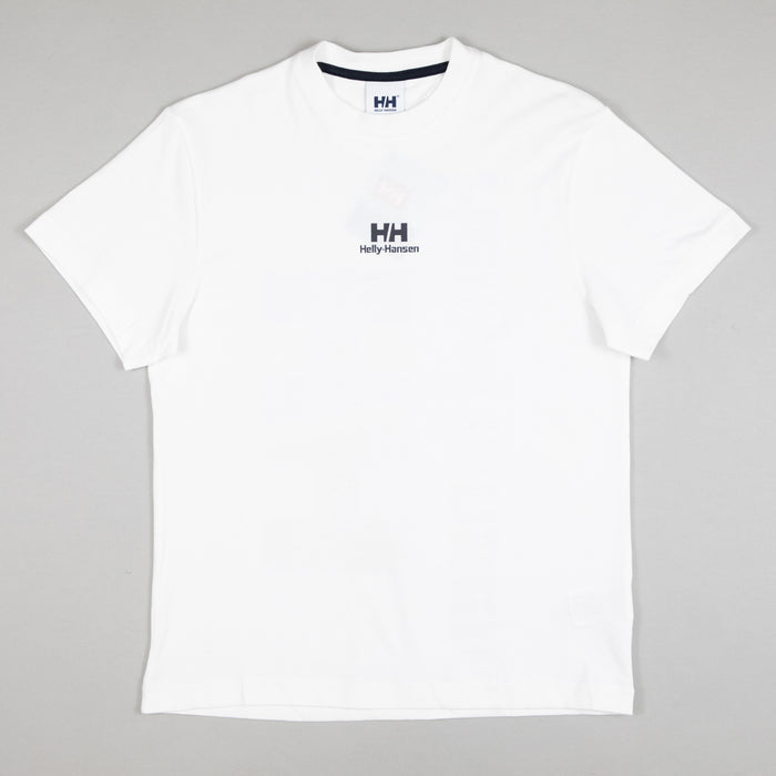 HELLY HANSEN YU20 Logo T-Shirt in WHITE