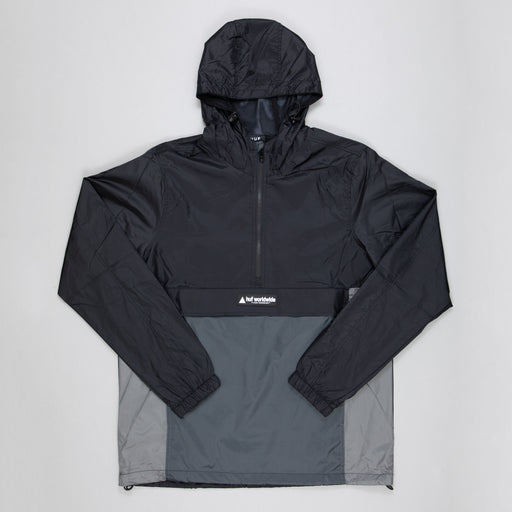 Wave Anorak Jacket in BLACK