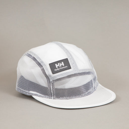 YU20 5 Panel Cap in WHITEHELLY HANSEN - CACTWS