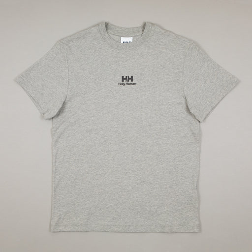 YU20 Logo T-Shirt in GREY MELANGEHELLY HANSEN - CACTWS