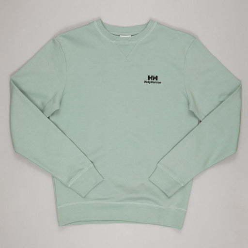 HELLY HANSEN YU Crew Sweater in EUCALYPTUS