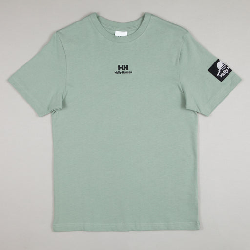HELLY HANSEN YU Patch T-Shirt in EUCALYPTUS