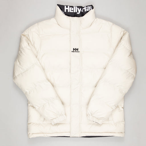 HELLY HANSEN YU Reversible Puffer Jacket in PELICAN