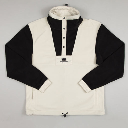 YU Snap BTN Fleece in PELICAN